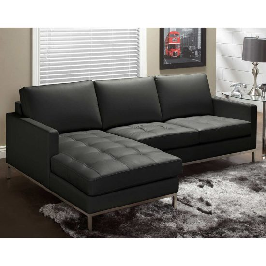 2018 Best Black Leather Sofa Beds Luxury Elegance And