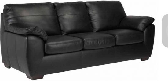 ... 2017 Best Black Leather Sofa Beds Luxury Elegance And Comfort ...