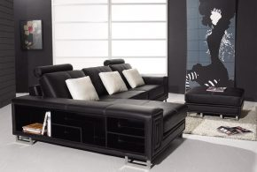"""2018 Best Black Leather Sofa Beds """"Luxury, Elegance, and comfort"""""""