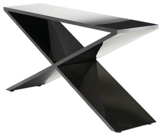 2017 Black sofa tables combine elegance and class with functionality