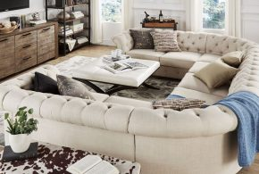 2018 distinctive functional U-shaped sectional sofas for beautiful large living spaces