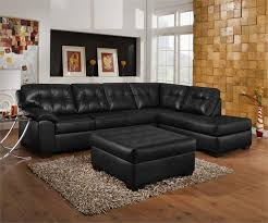 Black Leather Sofa: A magical touch of style for every home in 2018
