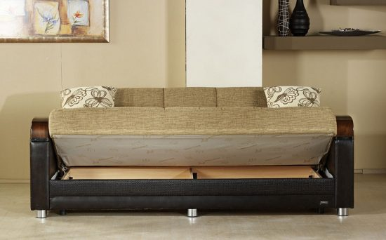 Corner sofa beds with storage a complete package for living space decoration