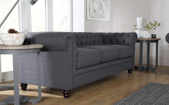 Fabric chesterfield sofas a perfect blend of elegance and comfort