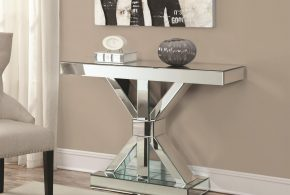 Glass console tables - catchy gorgeous decorative pieces for stylish homes