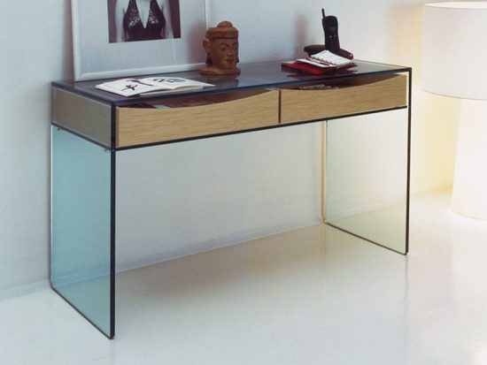 Glass console tables catchy gorgeous decorative pieces for stylish homes