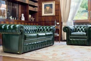 Leather chesterfield sofas combine luxury, beautiful class and sturdiness