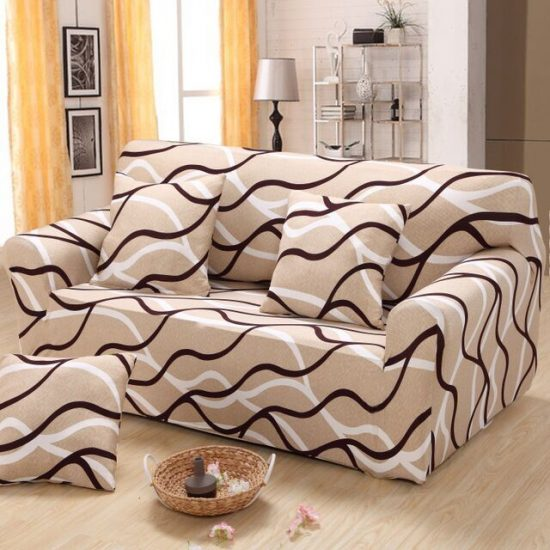 Recliner sofa covers a comfortable look with elegance for daily use