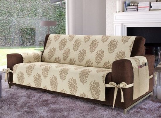 Sofa and loveseat covers for new home look with stylish feel