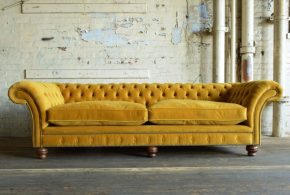 Velvet chesterfield sofas - lend your home the beauty and elegance of old eras