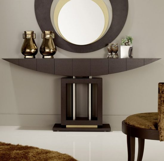 Contemporary console tables; functionality, decorative look and style for today's homes