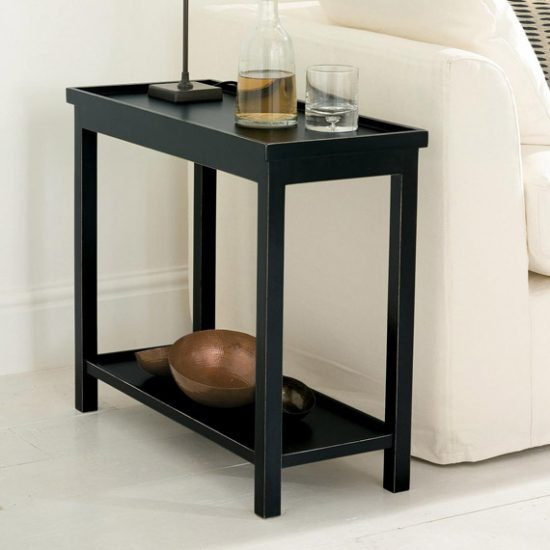Sofa side tables the final decorative and functional for Functional side table