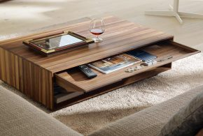 Wood coffee tables - give your home a distinguished look with quality and style