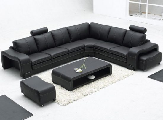 All You Need to Know About Leather Sectional Sofa