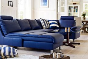2018 Blue sofa - A trendy and magical choice for your interior design