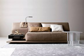 Contemporary sofa for elegant living room and pleasing look