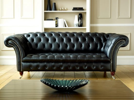 How to Clean Your Black Leather Sofa