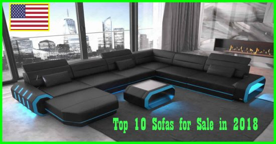 Top 10 Sofas for Sale in 2018 Starting from $100