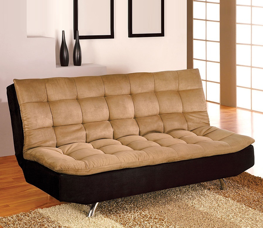 2018 comfortable futon sofa bed ideal choice for modern for Sofa for