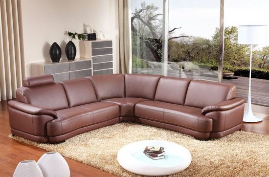 2017 brown leather sofas; an elegant statement in your living space