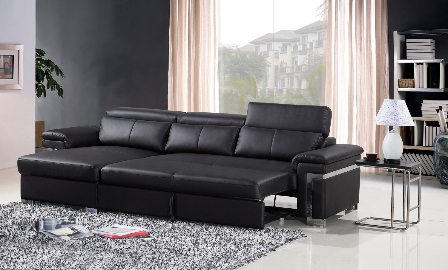 best picks colored leather sofa beds