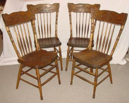 Antique Press-Back Chair Designs You Will Admire