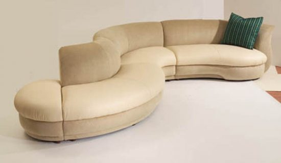 Curved Sofas: How to Create a Lovely Look with Them