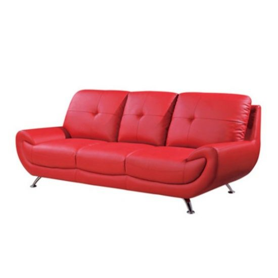 Incredible Effects to Create in your Living Room Today with a Red Sofa