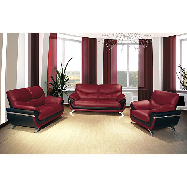 3 Piece Sofa Set For Comfort Enough Seating Space And
