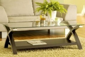 Glass coffee tables for class, style and freshness