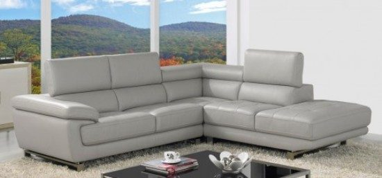 Leather corner sofa; A magical piece to elegantly fill today's home