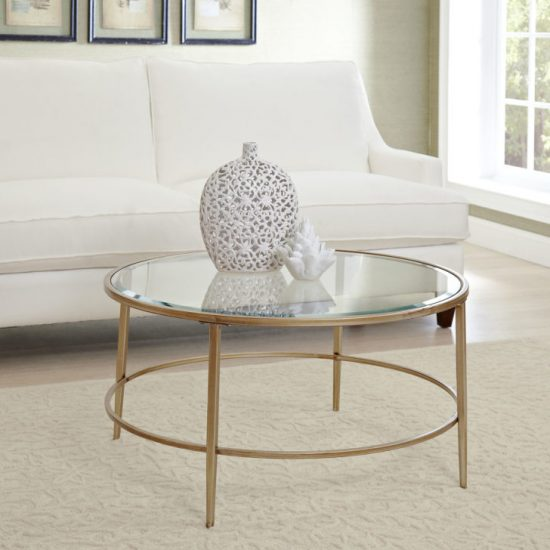 Round Coffee tables for smooth, comfortable and stylish atmosphere