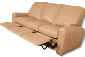 Leather reclining sofas - a refuge for coziness and maximum relaxation