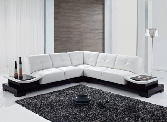 Enjoy the magnificent look style and comfort of 2017 leather sofa sets