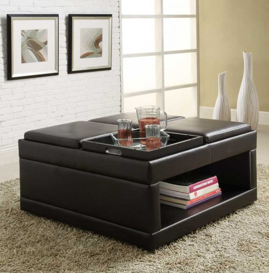 Sofa tables with Storage to Enhance Your Home Beauty and Functionality