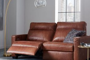 Leather reclining chairs - Chic addition with extreme comfort for living space and offices