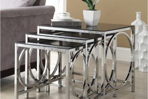 Nesting end tables - a great investment with beauty and practicality