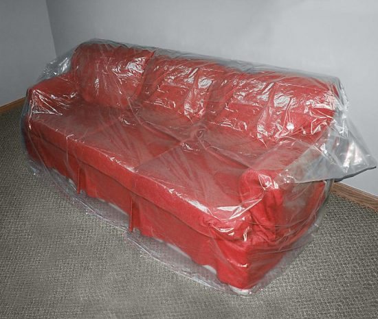 Plastic Sofa Covers are back for keeping your indoor and outdoor elegance