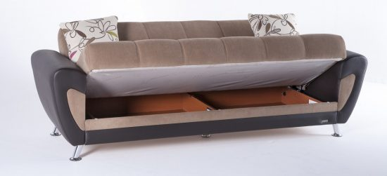 Sofa beds with storage Compact furniture pieces for todays small living space