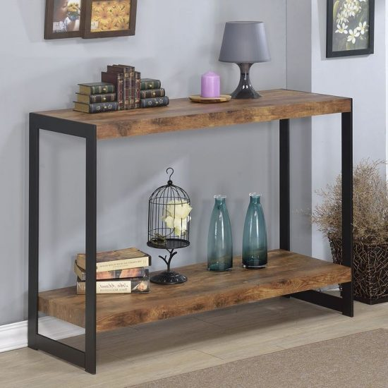 Wood console table a dream piece for warmth sophisticated beauty and functionality